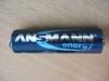 Аккумуляторы Ansmann Energy NiMH 2700 mAh AKKU
