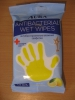 Антибактериальные влажные салфетки Aura Antibacterial Wet Wipes Lemon С лимоном