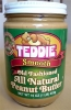 Арахисовая паста Teddie Smooth All Natural Peanut Butter