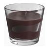 Ароматическая свеча в стакане Тиндра IKEA, коричневый