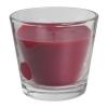 Ароматическая свеча в стакане Тиндра IKEA, красный