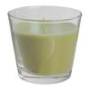 Ароматическая свеча в стакане Тиндра IKEA, зеленый