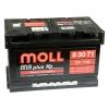 Автомобильный аккумулятор Moll M3 Plus K2 71Ah