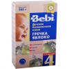 Детская безмолочная каша Bebi гречка-яблоко c 4 месяцев
