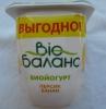 "Биойогурт Bio Баланс ""Персик-банан"" 2,8 %"