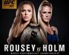 Бой за чемпионский титул  в легчайшем весе между Рондой Роузи и Холли Холм