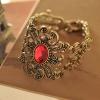 """Браслет """"Старинный дворец"""" с красным камнем арт. SL086"""