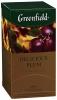 Чай черный Greenfield Delicious Plum в пакетиках
