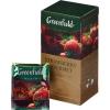 Черный чай Greenfield Strawberry gourmet в пакетиках