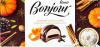 "Десерт Bonjour ""Pumpkin latte flavor"" Konti"