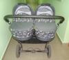 Детская коляска для двойни Slaro Charlotte Duo