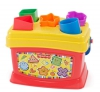 Детская развивающая игрушка Fisher Price Brilliant Basics ведерко-сортер
