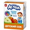 """Детский сок """"Агуша"""" яблоко-персик с мякотью"""
