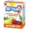 """Детский сок """"Агуша"""" яблоко-вишня осветленный"""