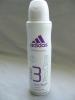 Дезодорант-антиперспирант спрей Adidas for women action 3 Pro Clear