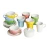 """Набор для кофе/чая """"Дуктиг"""" разноцветный от IKEA, 10 предметов"""