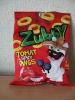 """Фигурные изделия снэки Zubby """"Tomat Spicy Rings"""" со вкусом томата """"Спайси"""""""