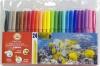 Фломастеры Koh-i-Noor Hardtmuth 24 цвета