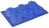 Силиконовая форма для кексов «Ассорти» Regent inox 30х17.5х4 см