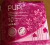 """Гигиенические прокладки с крылышками в индивидуальной упаковке """"Pupi"""" Normal Dry"""