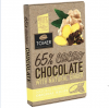 Горький шоколад Tomer 65% cacao chocolate with natural ginger