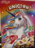 """Завтраки готовые """"Радужные колечки с фруктовым вкусом"""" Unicorn  Kellogg's"""