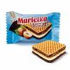 """Хрустящие вафли АВК """"Marletka"""" Dessert с двумя начинками со вкусом сливок и шоколада"""