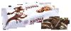 """Хрустящий карамельно-вафельный десерт в шоколадной глазури с декором """"Каурка"""" Акконд"""