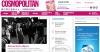 Интернет версия женского журнала Cosmopolitan Россия cosmo.ru
