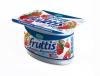 "Йогурт Campina Fruttis 5% ""Сливочное лакомство"" Клубника-земляника"