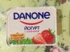 "Йогурт с клубникой ""Danone"" 2,9%"