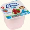 "Йогурт вязкий ""Агуша"" малина-земляника, с 8 месяцев, 2,7%"