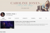 "Канал на YouTube ""Caroline Jones"""