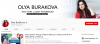 Канал на YouTube Olya Burakova