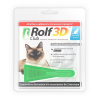 Капли от блох и клещей RolfClub 3D для кошек менее 4 кг