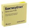 Капсулы против кишечных отравлений «Бактисубтил»