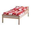 Каркас кровати с реечным дном, бук Сниглар IKEA