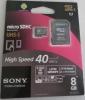 Карта памяти micro SDHC UHS-I Sony
