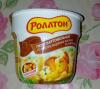 Картофельное пюре Роллтон со вкусом жареных лисичек со сметаной