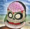 Кепка El Contrabando «Zombie attack»