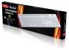 Клавиатура проводная мультимедийная Slim SmartBuy 204 USB SBK-204US-W