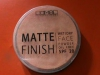 Компактная матирующая пудра для лица Lamel Professional Matte Finish SPF 20