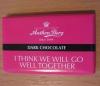 "Конфеты Anthon Berg ""Dark Chocolate"" I Think We Will Go Well Together"