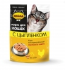 """Консервированный корм для кошек """"Васька"""" с цыпленком"""