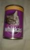 """Консервы для кошек в банке Whiskas """"Рагу с индейкой и печенью"""""""