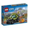 """Конструктор Lego City """"Грузовик исследователей вулканов"""" 60121"""