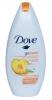 """Крем-гель для душа Dove """"Фруктовый всплеск"""" с ароматом нектарина и белого имбиря"""