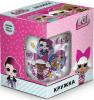 Кружка L.O.L. Surprise от ND Play  в подарочной упаковке, 250 мл, стекло