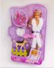 "Кукла с аксессуарами Defa Lucy ""Warm winter"" арт. 8125"