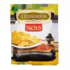 Кукурузные чипсы Nachos Delicados с кусочками оливок и паприкой